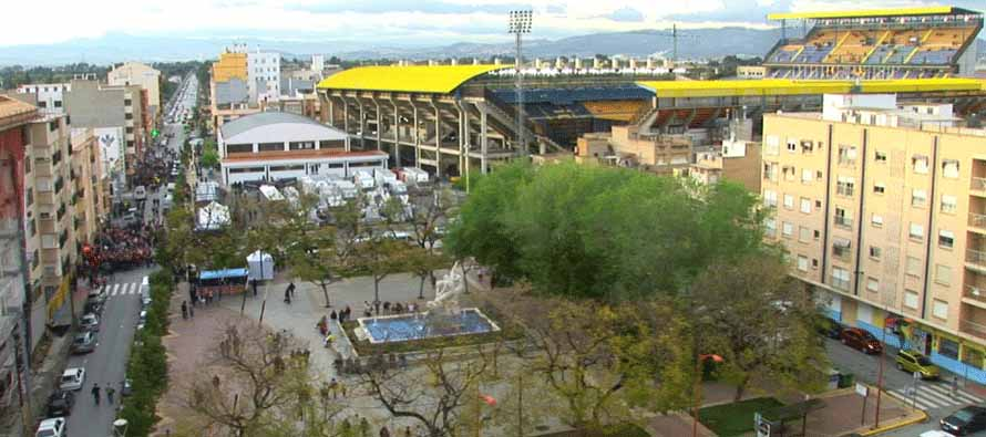 Exterior of El Madrigal Stadium