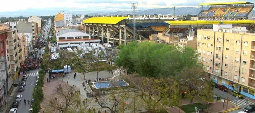 Exterior of El Madrigal Stadium