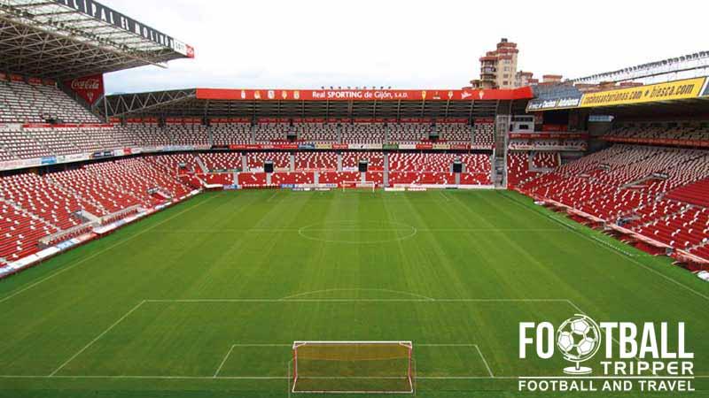 Estadio el molin n sporting de gij n football tripper - Fotos del sporting de gijon ...