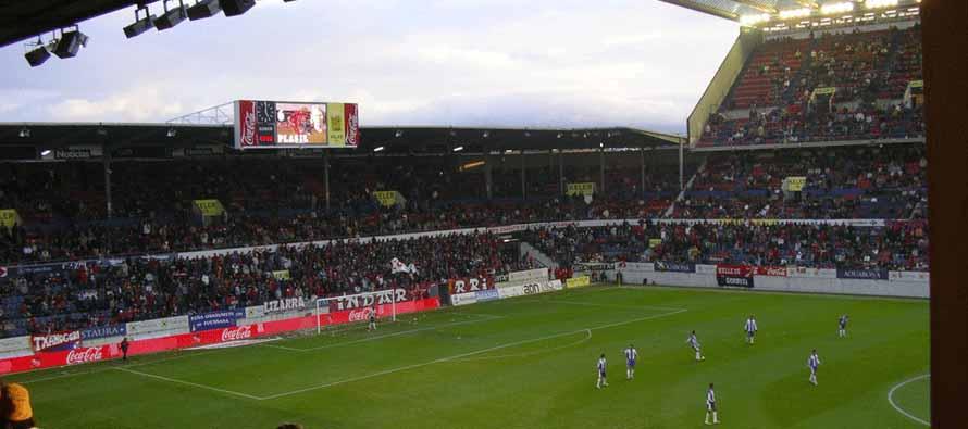 Inside El Sadar Stadium