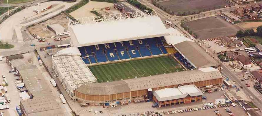 Exterior of Elland Road