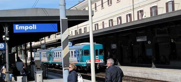 Inside Empoli Station