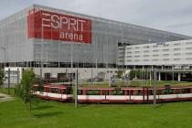 exterior of esprit arena