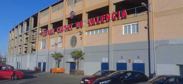 Exterior of Estadi Ciutat de Valencia