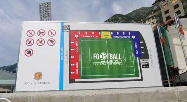 Andorra National Stadium seating Plan