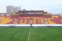 Interior of Estadio Santa Laura Universidad SEK