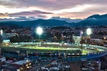 Aerial view of Estadio Alejandro Serrano Aguilar