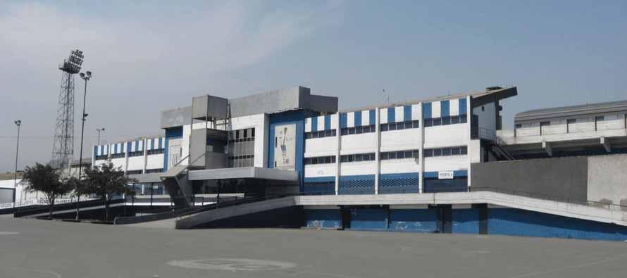Main entrance of Estadio Alejandro Villanueva