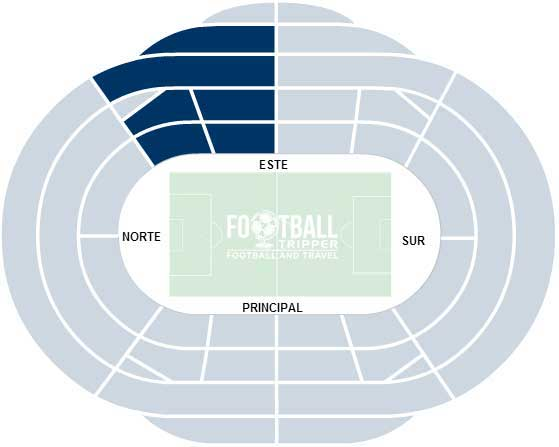 Estadio Anoeta Seating Plan