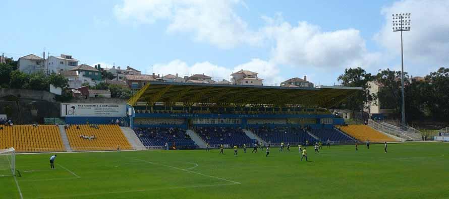 Estadio Antonio Coimbra Da Mota main stand