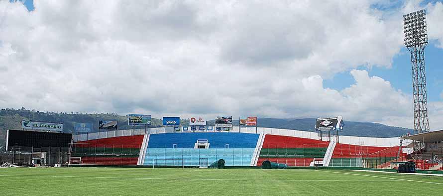Inside Estadio Bellavista