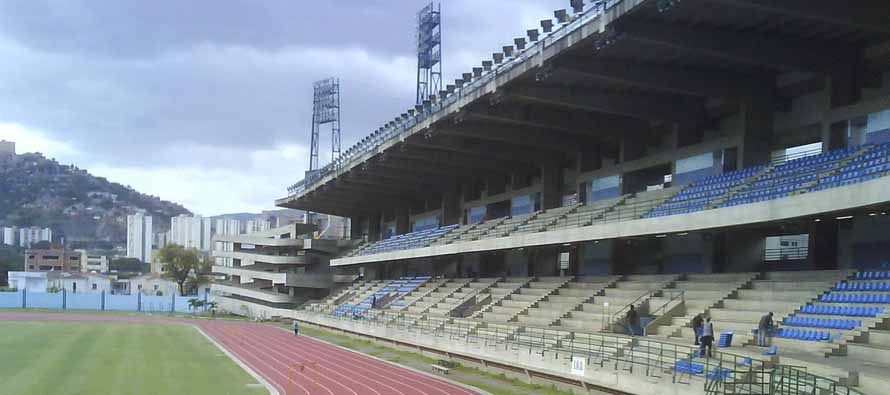 Main Stand at Estadio Brigido Iriarte