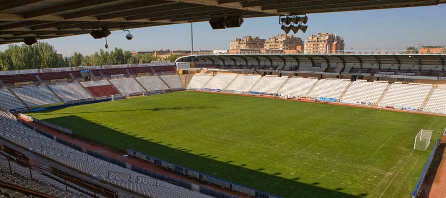 Estadio Carlos Belmonte pitch