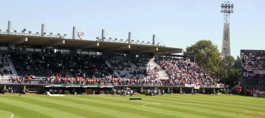 Inside Estadio Centenario Quilmes