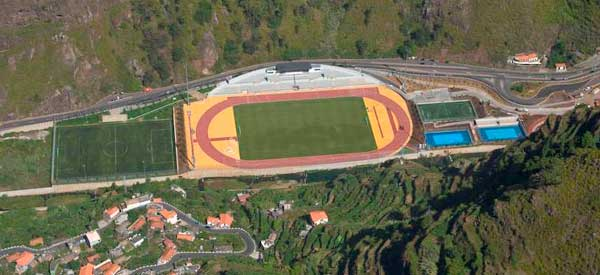Estadio Centro Desportivo Madeira aerial view