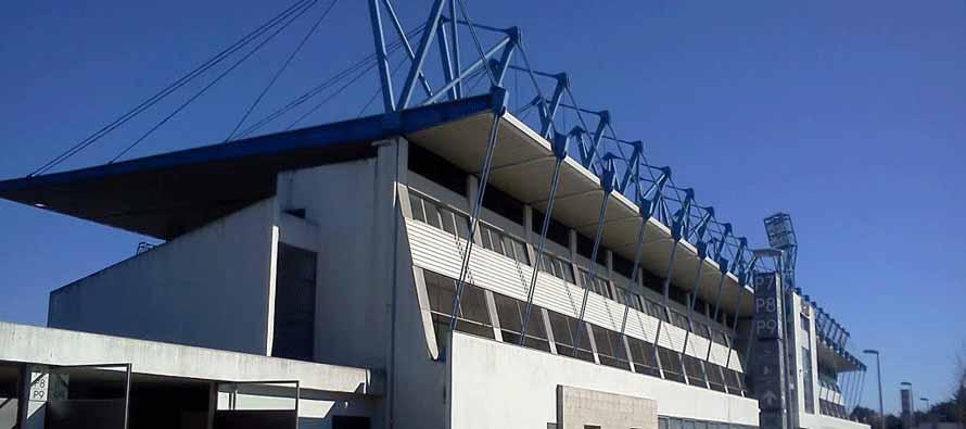 Estadio Cidade De Barcelos main stand