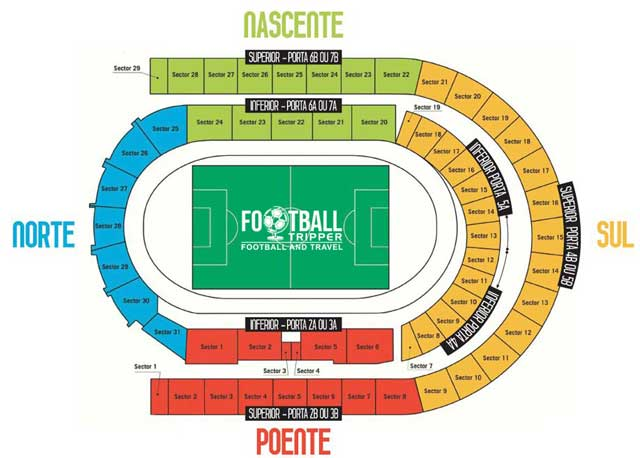 Estadio de Coimbra seating chart