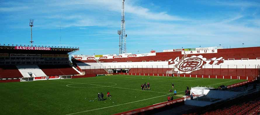 Inside Estadio Ciudad De Lanus