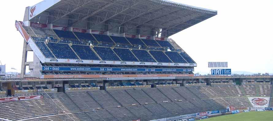 estadio cuauhtemoc main stand