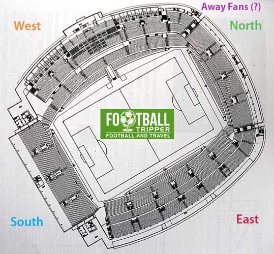 Vitoria SC Stadium Map