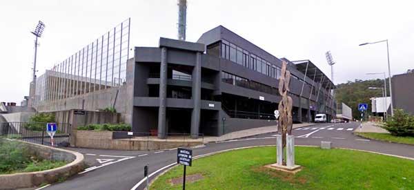 Exerior of Estadio da Madeira
