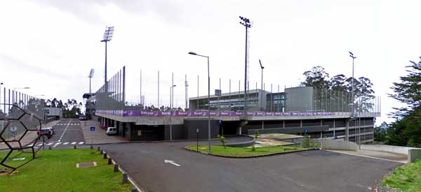 Parking at Estadio da Madeira