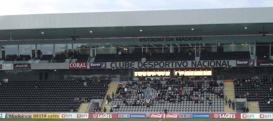 Estadio Da Madeira Main Stand