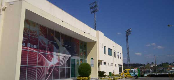 Exterior of Mata Stadium