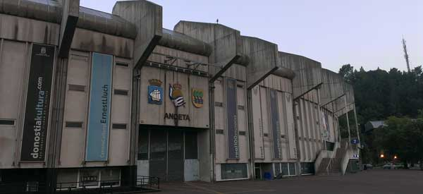 Exterior of Estadio do Anoeta