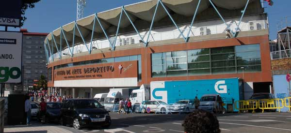 Outside Estadio Balaidos