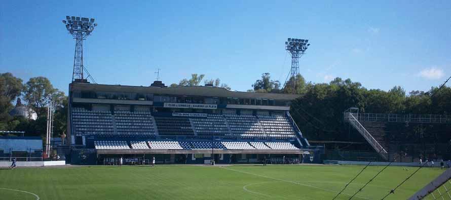 Estadio Del Bosque main stand