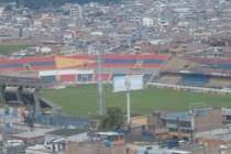 Aerial view of Estadio Departamental Libertad