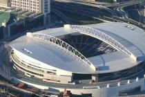Aerial view of Estadio Do Dragao