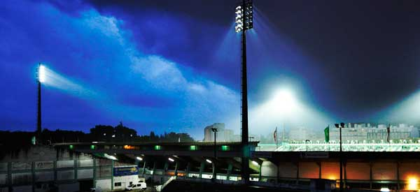 Estadio do bonfirm night time