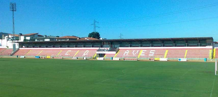 Main stand of Estadio das Aves