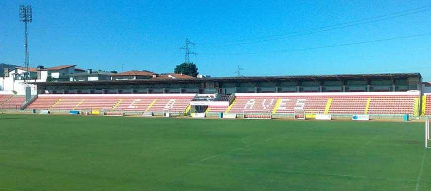 Main stand of Estadio das Aves
