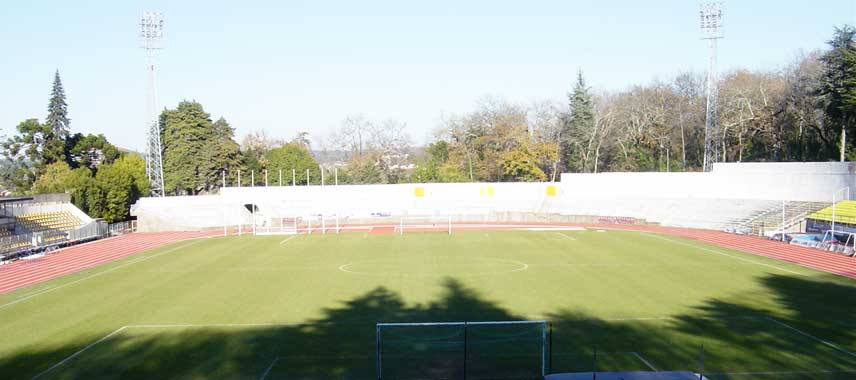 View overlooking the pitch at Fontelo Stadium