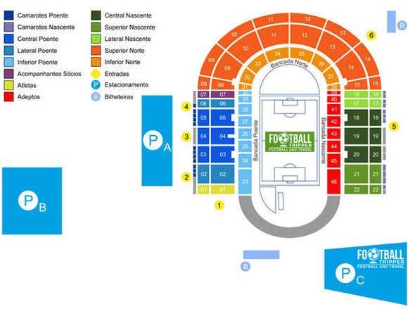 Estadio do restelo map