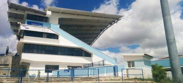Sideview of Estadio do Restelo