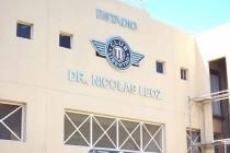 Estadio Dr Nicolas Leoz sign