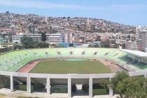 Aerial view of Estadio Elias Figueroa Brander