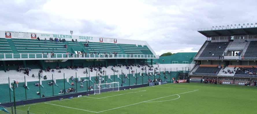 Inside Estadio Florencio Sola