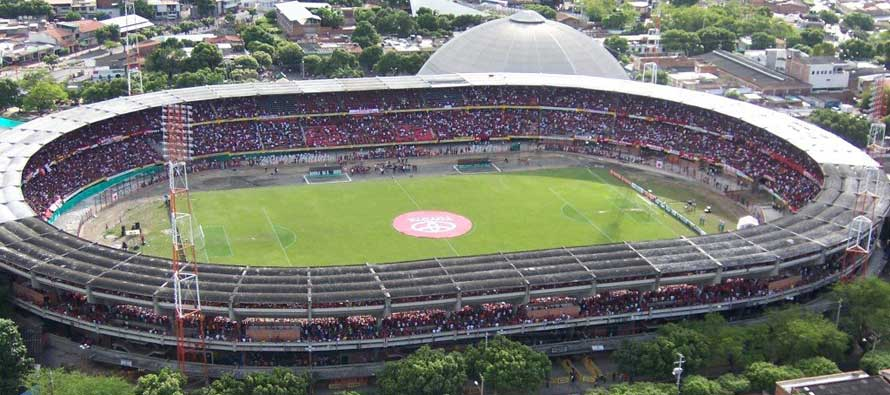 Aerial View of Estadio General Santander