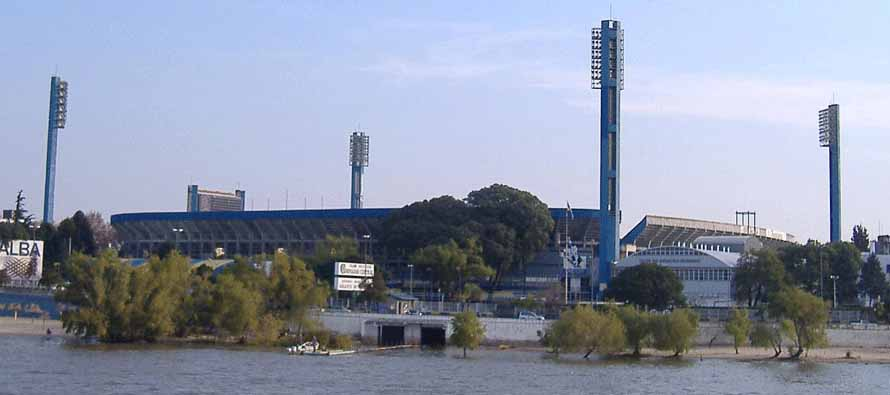 External view of Estadio Gigante De Arroyito
