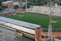 Aerial view of Estadio Guillermo Plazas Alcid