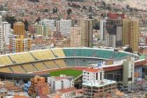 Aerial View of Estadio Hernando Siles