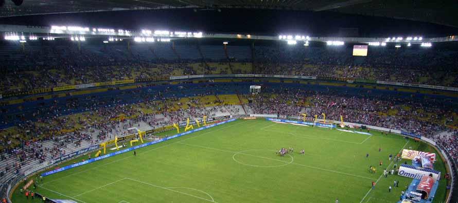 inside estadio jalisco matchday