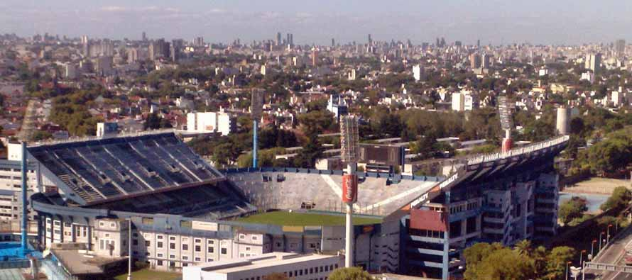 Aerial View of Estadio Jose Amalfitani