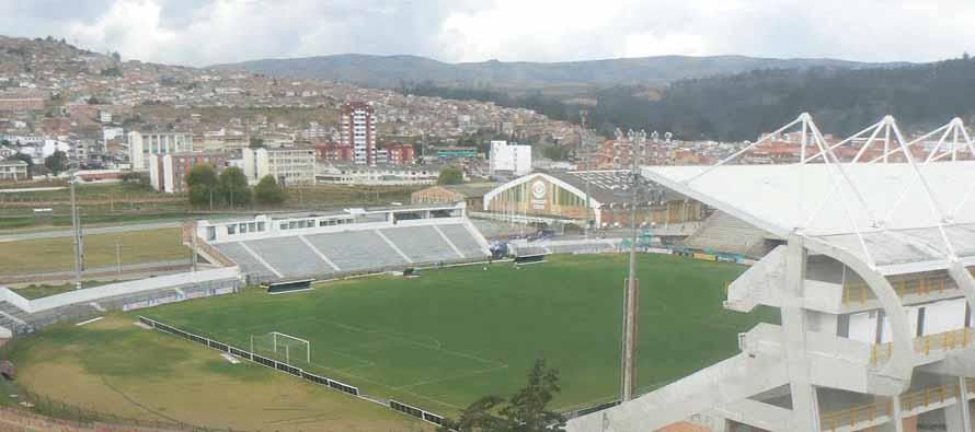 Inside Estadio La Independencia