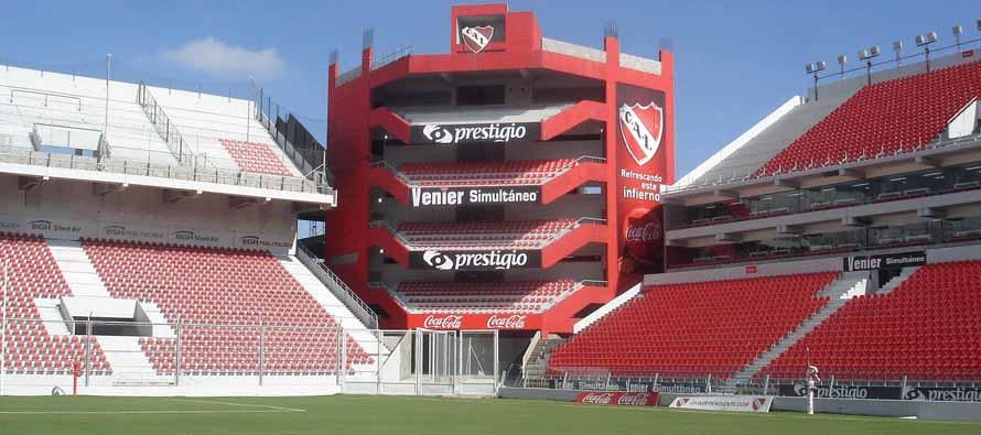 Estadio Libertadores Des Americas corner stand